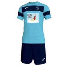 "Ballymoney Hockey Club ""TOTS"" Joma Academy II S/S (Shirt/Shorts) Turquiose/Navy Youth 2019"